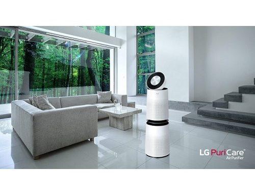 За по-чист въздух – мощен въздухопречиствател LG AS60GDWV0