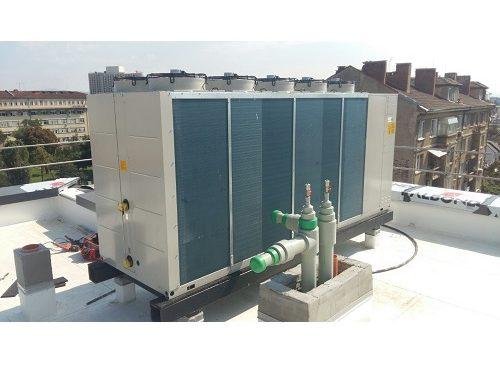 Инсталация на термопомпен агрегат DAIKIN-140KW в хотел – гр. София