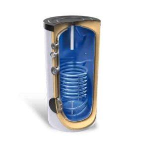 Бойлер Bosch Acu Heat 160l UNO / 8 bar, с една серпентина
