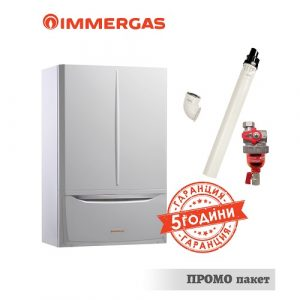 Газов едноконтурен кондензен котел  Immergas VICTRIX 12 KW  TT PLUS
