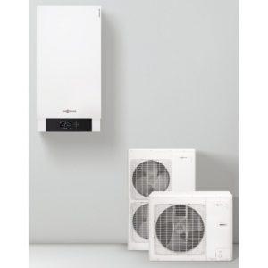 Термопомпена система VIESSMANN Vitocal 100-s, 230v - 17.1 kw - за отопление,15.6 kw - за охлаждане