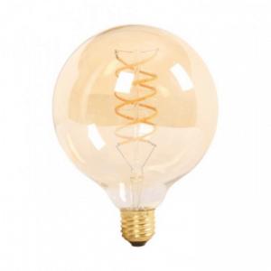 LED Крушка - 6W Filament E27 G125 Amber 2200K