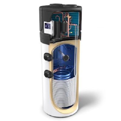 Термопомпен бойлер Tesy  AquaТhermica 200S с топлообменник