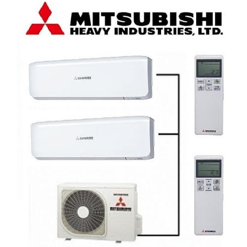 Мулти сплит система Mitsubishi Heavy с SCM50ZS-W