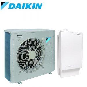 Хибридна термопомпа Daikin Altherma EHYHBX08AV3 / EHYKOMB33AA3 / EVLQ08CV3 - отопление, охлаждане и БГВ