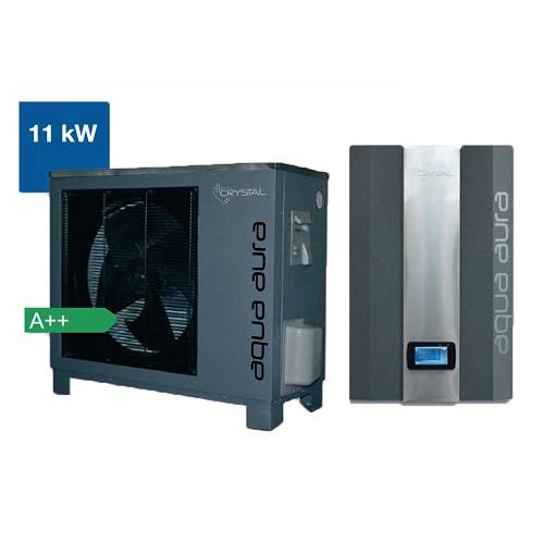 Термопомпена система Crystal, Aqua Aura 11 kW