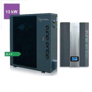 Термопомпена система Crystal, Aqua Aura 13 kW