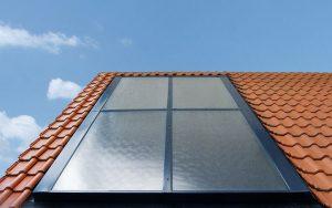 flat thermal solar panel / selective