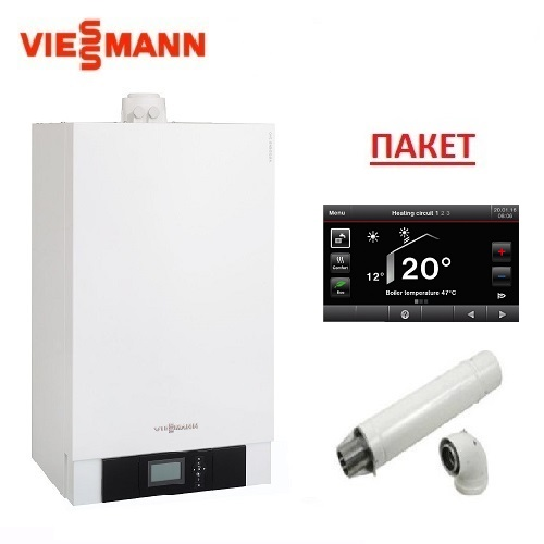Пакет с газов двуконтурен кондензен котел VIESSMANN VITODENS 200-W - Z020733 - 25kW