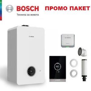Пакет с двуконтурен газов кондензен котел Bosch Condens 2300i W+регулатор CT 200 - 24KW