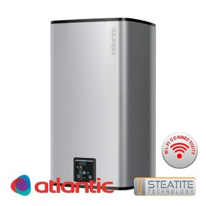 Бойлер Atlantic Steatite Cube Wi-fi -Silver-75л