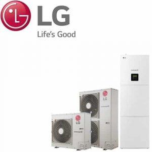 Термопомпена система LG HN1616T.NB0/HU091.U43