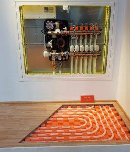 инсталация подово отопление