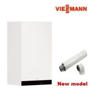 Пакет с двуконтурен кондензен котел VIESSMANN VITODENS 050-W - 25 KW