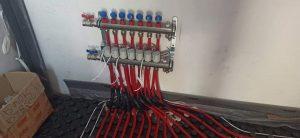 Колектор за подово отопление 3 кръга REHAU